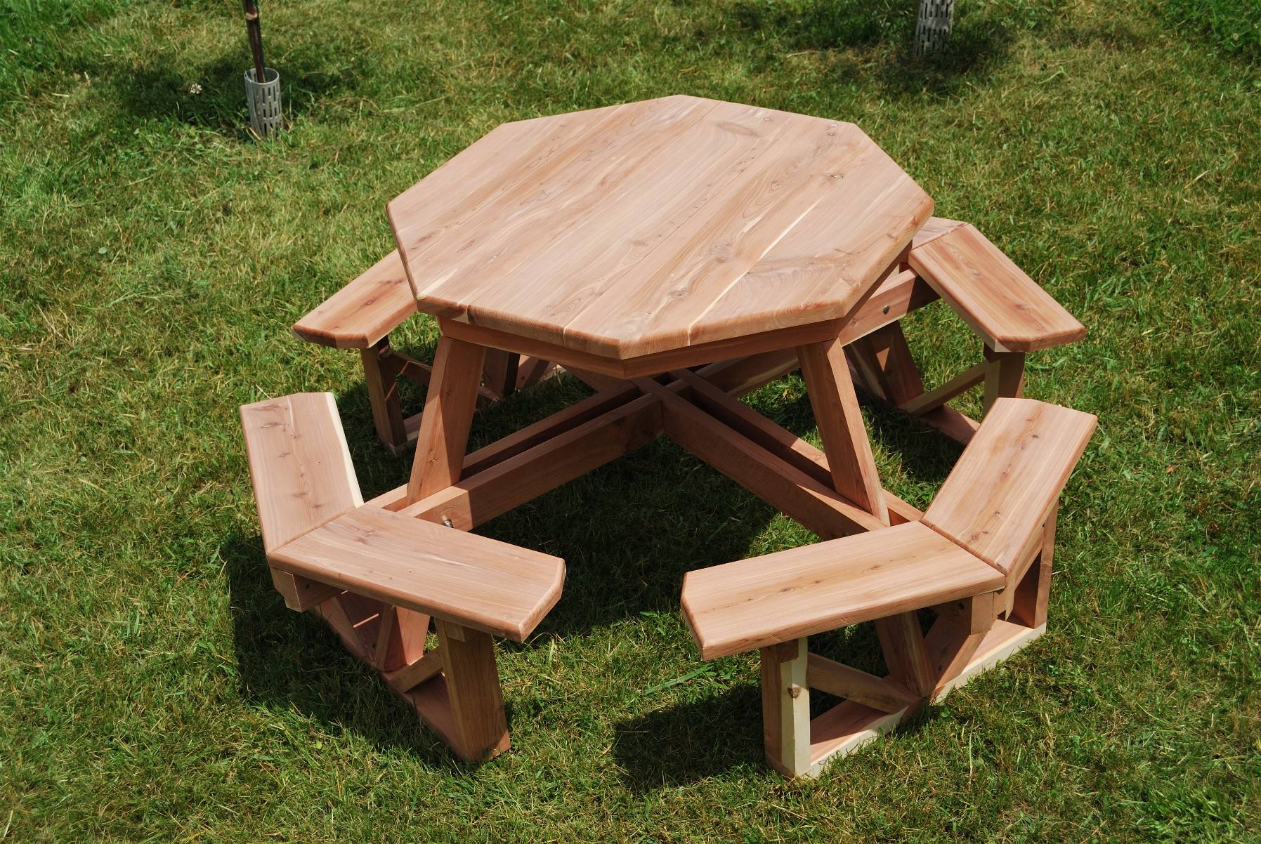 Kids' Octagonal Picnic Table